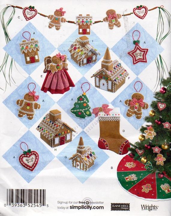 No Sew Christmas Ornament Christmas Stocking Church Angels   Etsy