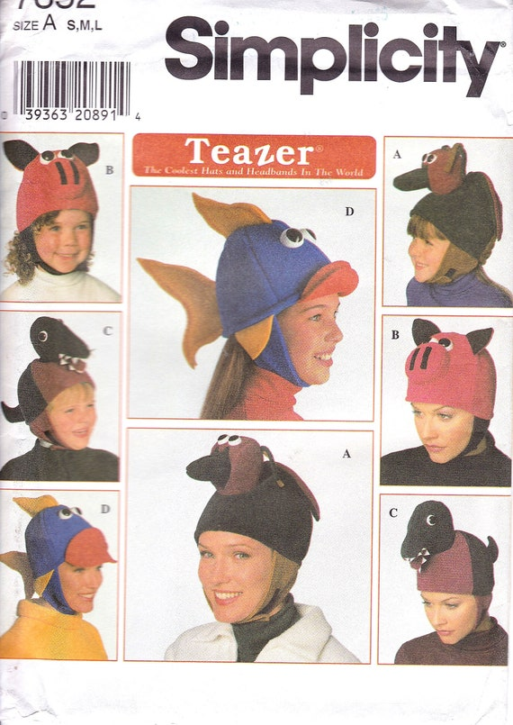 Coolest Hat Ever >> Teazer Hat Pattern The Coolest Hat Ever Child S And Etsy
