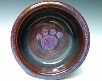 Dog Bowl ~ Pet Bowl ~ Stoneware Dog Bowl ~ Dog Food Dish ~ Food Water Dish for Dogs and Cat ~  Pet Dish ~ Ceramic Dog Bowl ~ Gifts for Pets