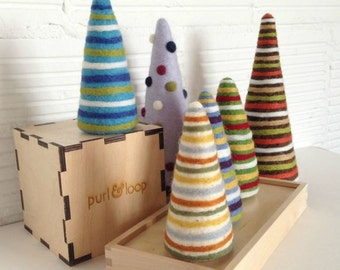 How To Make a Needle Felted Tree