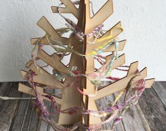 Medium Wood Display Tree