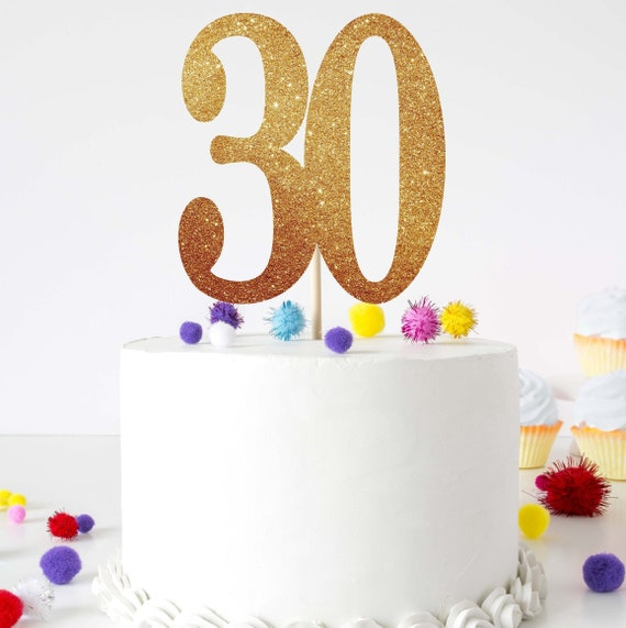 30th Birthday Decoration 30 Birthday For Him 30 Birthday For Etsy