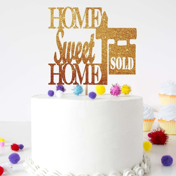Housewarming Party Decoration Housewarming Cake Topper New Etsy