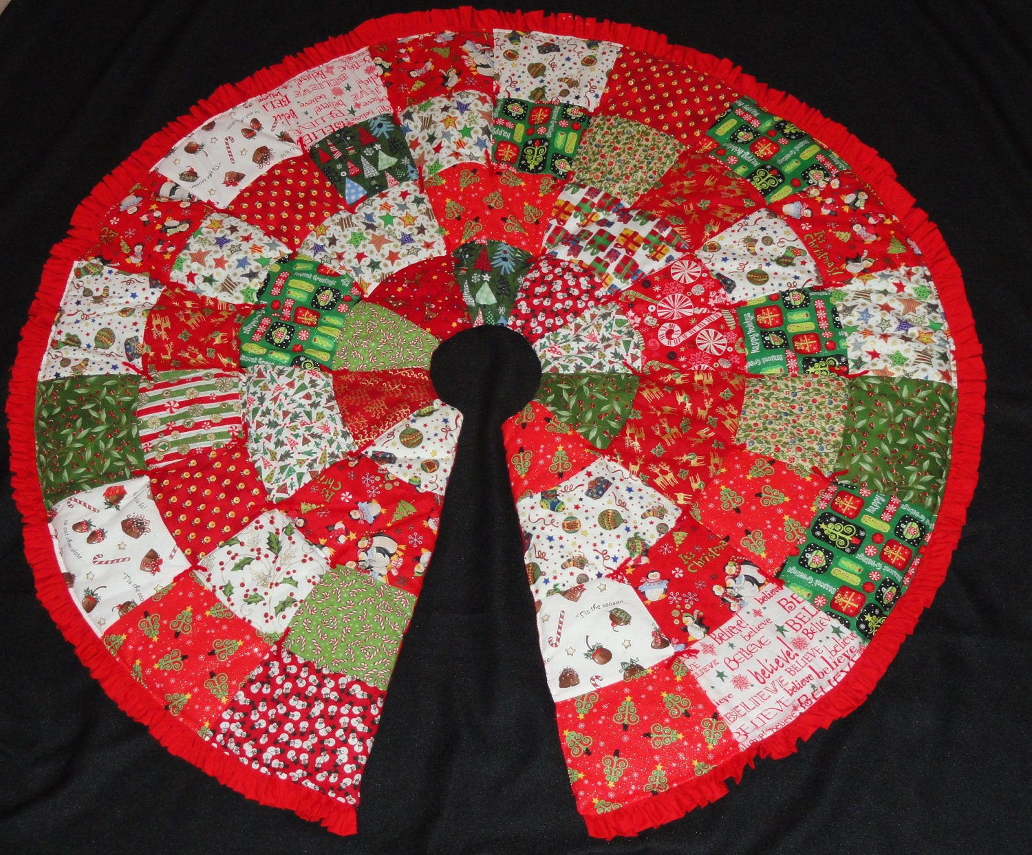 Christmas Tree Skirt Pattern PDF