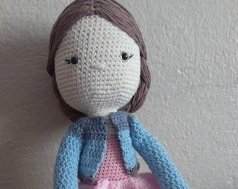 Amigurumi doll. Girls best friend