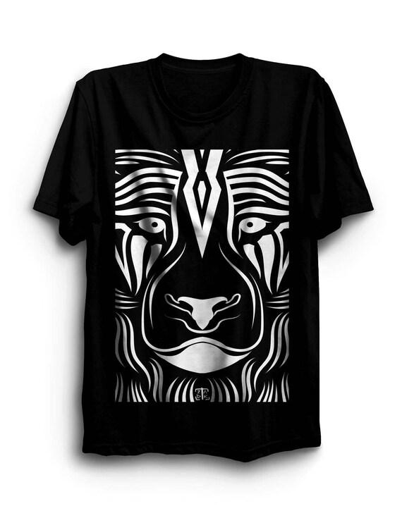 Tribal Festival Burning Man Clothing Psychedelic Goa Polynesian Tribal Warrior Tattoo Shirt Native American Art Tattoo Artist Gifts r6UPZr