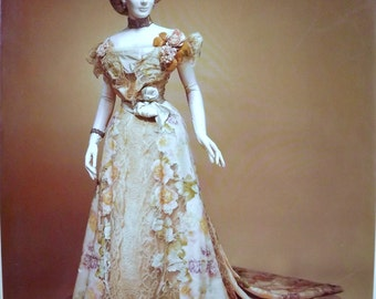 The OPULENT ERA~Fashions of Worth, Doucet+Pingat~19th c. couture design~Hb/Dj~Pictures