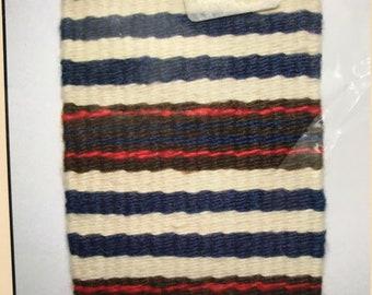 Navajo Style rug WEAVING KIT~Wildwoods Craft~Miniature Blanket 5x7~MIP~tapestry