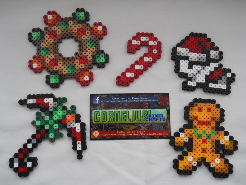 Terraria - Holiday item Set 2 (keychains optional!)