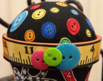 Sewing #235: Stick-It-To-Me! Pin Cushion