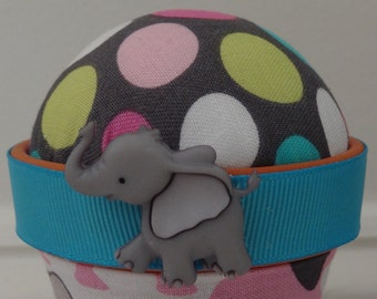 Elephant #1: Stick-It-To-Me! Pin Cushion