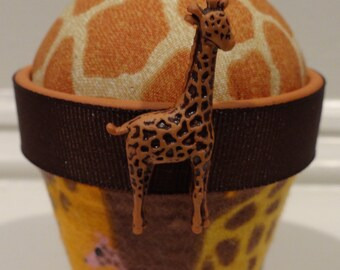 Giraffe #2: Stick-It-To-Me! Pin Cushion