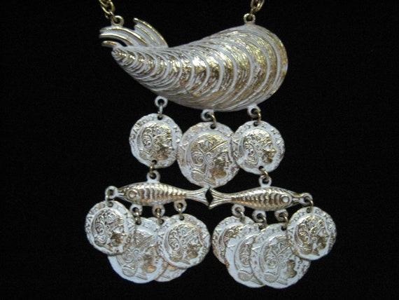 Vintage Coro Aegean Treasure Necklace