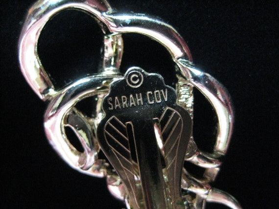 "Vintage Sarah Coventry ""Town and Country"" Earrings - image 8"