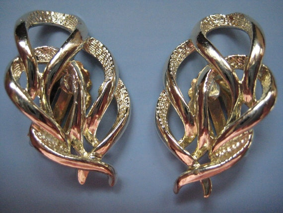 "Vintage Sarah Coventry ""Town and Country"" Earrings - image 1"