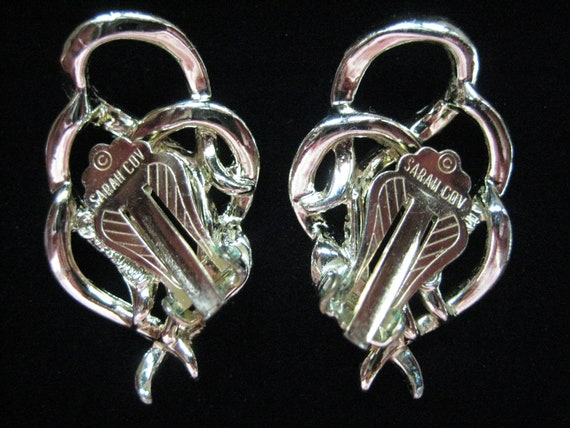 "Vintage Sarah Coventry ""Town and Country"" Earrings - image 7"