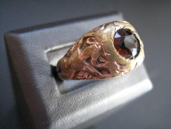 Art Nouveau Gentleman's Ring