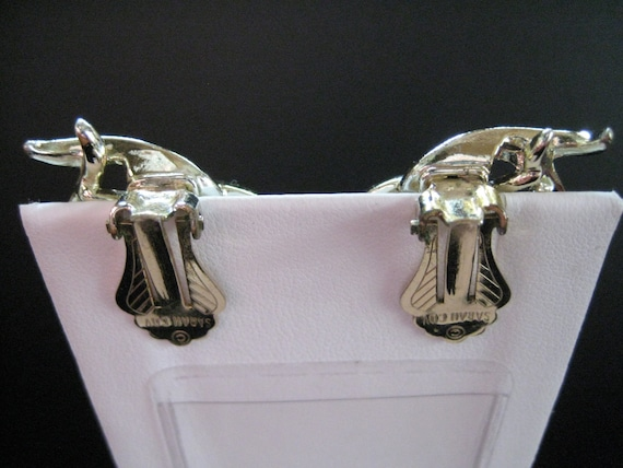 "Vintage Sarah Coventry ""Town and Country"" Earrings - image 4"