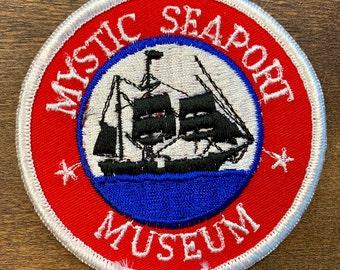 19D Commemorative Historic Mystic Seaport Connecticut Plate