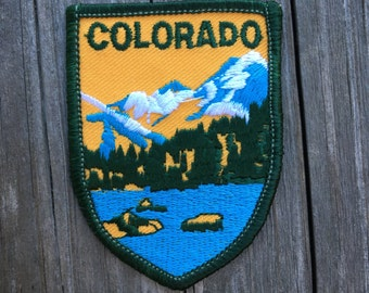 Colorado Vintage Travel Patch by Voyager