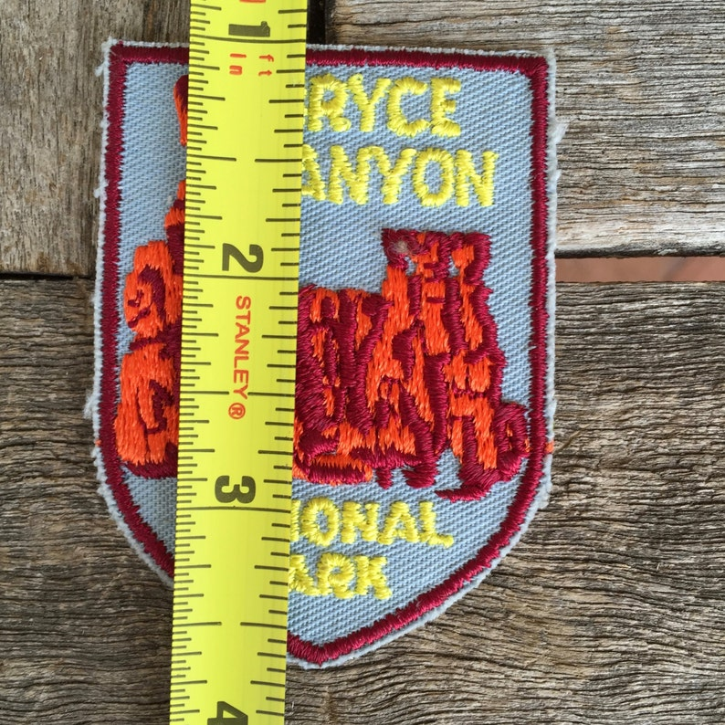Bryce Canyon National Park Utah Vintage Travel Patch by Voyager