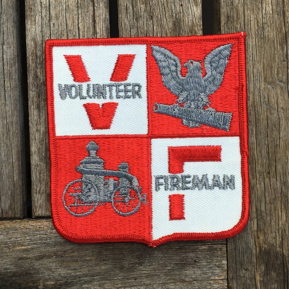 Volunteer Fireman Patch