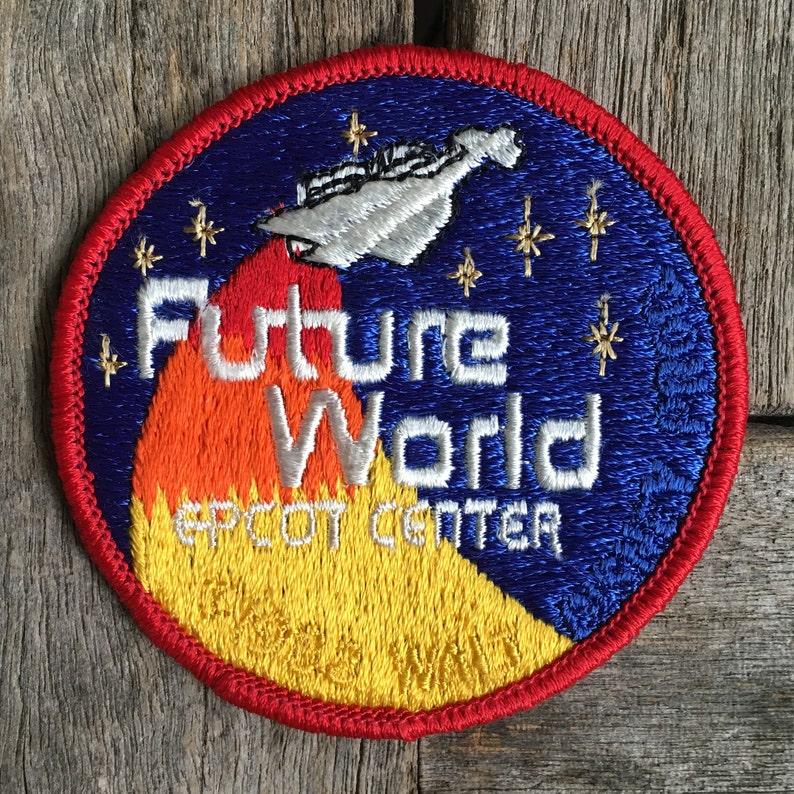Future World Epcot Center Vintage Disney Travel Patch