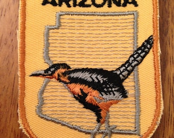 Arizona Vintage Travel Patch by Voyager