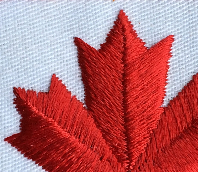 Canada Maple Leaf Vintage Travel Patch
