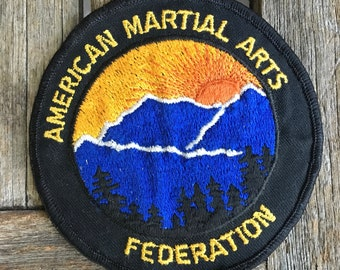 American Martial Arts Federation Patch