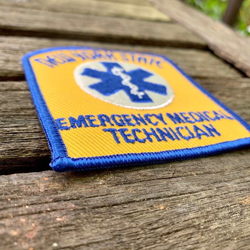 New York State Emergency Medical Technician Patch
