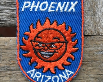 LAST ONE! Phoenix Arizona Vintage Travel Patch by Voyager