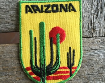 Arizona Vintage Souvenir Travel Patch