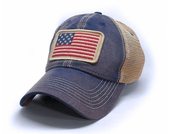 13baef2b7 ... hats caps navy f379b 281e0; cheap 1812 usa flag patch trucker hat navy  00c0b 306d8