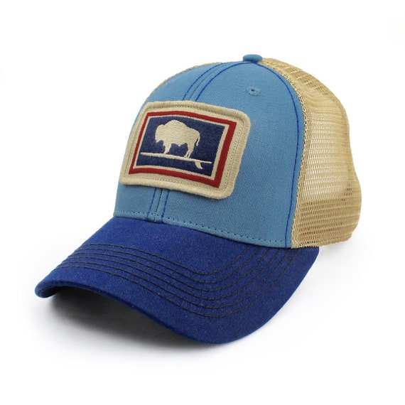 Everyday Trucker Hat Structured Surfing Wyoming Buffalo Big  c957eb624