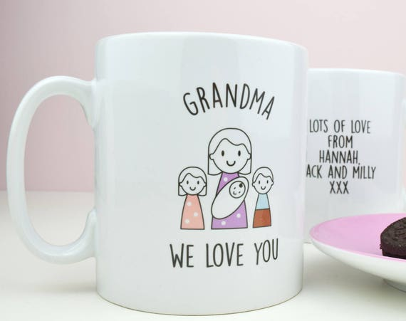 Granny mug - Mother's day gift - Grandma gift - Present for Nan - Grandparent gift