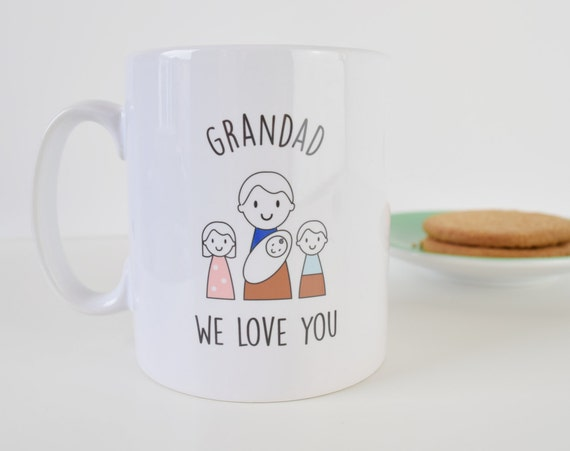 Grandad Mug - Father's Day Mug - Personalised Mug - Father's Day Gift - Grandparent gift