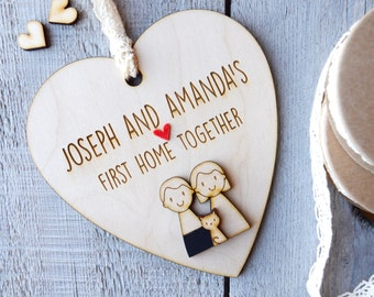 First Home together - Housewarming - New Home Gift - first home