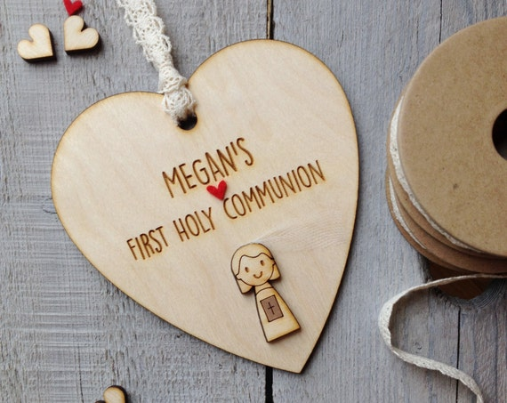 First Holy Communion keepsake - Confirmation gift - Personalised holy communion gift