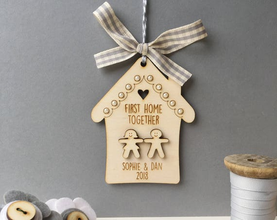 First home together - first home keepsake - first home gift