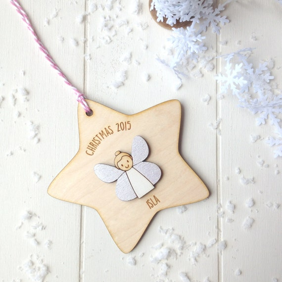 Fairy Christmas Tree Decoration - girls christmas decoration - tree decoration