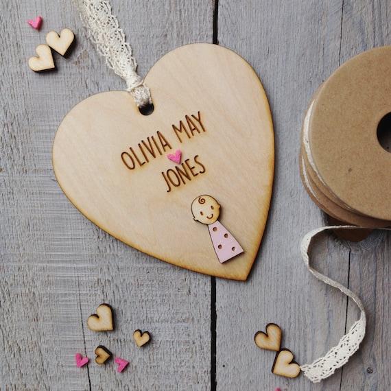 New Baby Girl gift - personalised baby girl gift - new baby gift