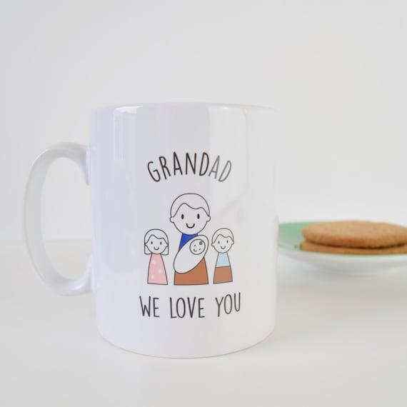 Grandad Mug - Father's Day Mug - Personalised Mug - Father's Day Gift - Grandparent gift