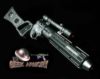 e6766fc80dc STAR WARS Boba Fett Blaster EE-3 Carbine Rifle Prop Replica Metallic Black