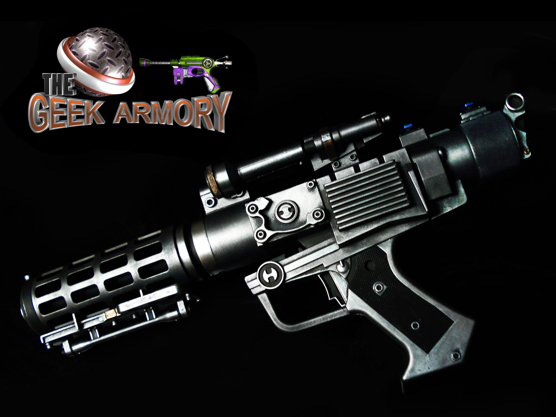 "Star Wars Droid Clone /""General Grievous/"" Light /& Sound Blaster Prop"