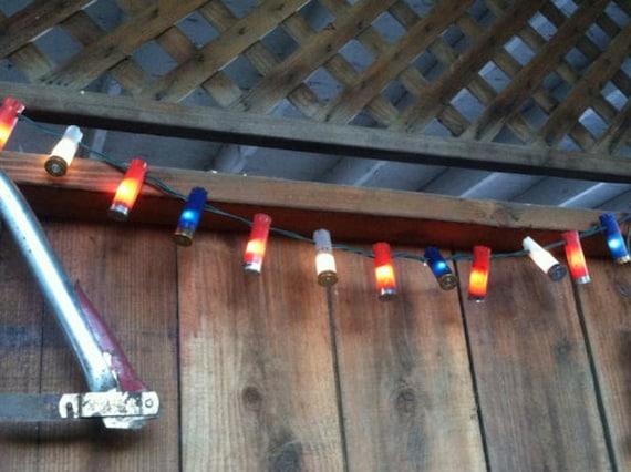 LED Battery Operated Shotgun Shell Party Lights 20 Light String