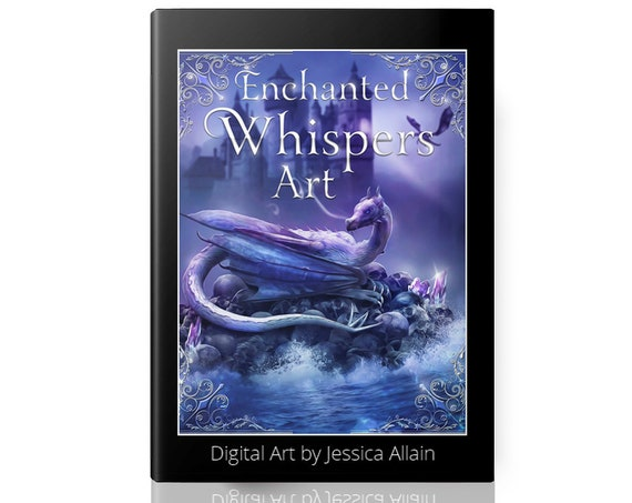 fantasy art coffee table book by Enchanted Whispers art digital art by Jessica Allain