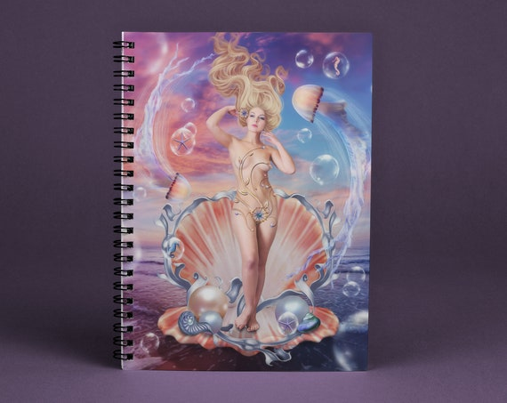 fantasy art notebook journal diary