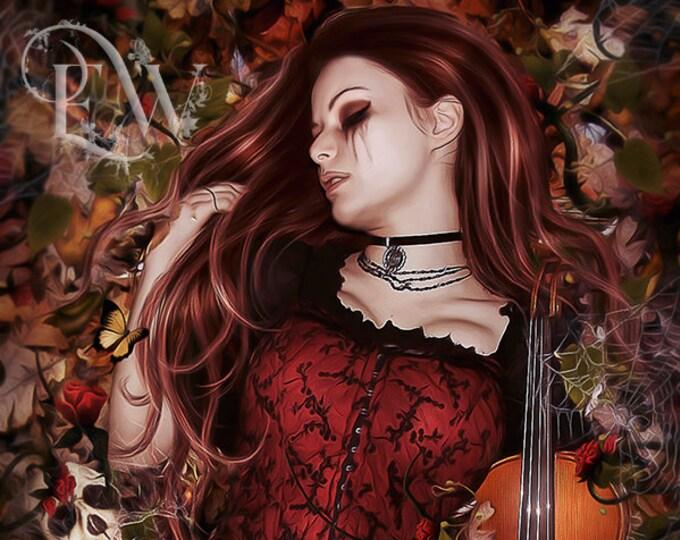 Dark Fantasy art print by Enchanted Whispers