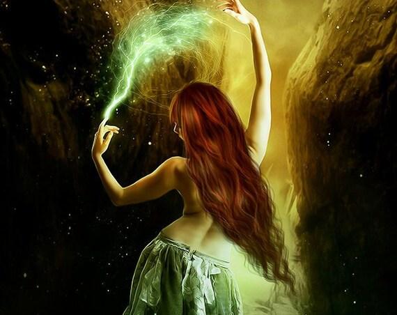 Premade paranormal fantasy cover design for ebook or print book